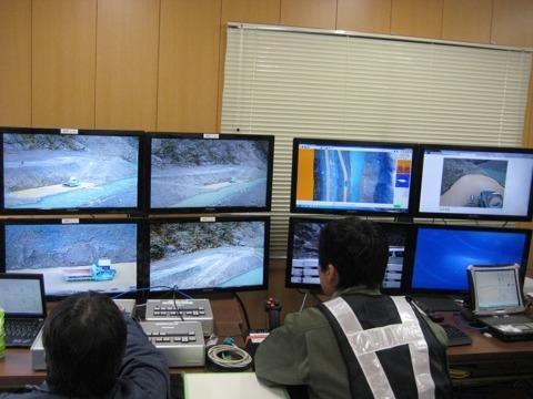 無人化施工技術に関する新技術の研究開発