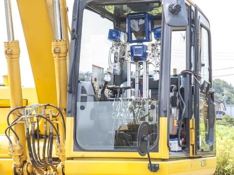 人型ロボットによる建設機械操縦効率化