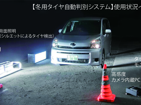 【3】冬用タイヤ自動判別システム