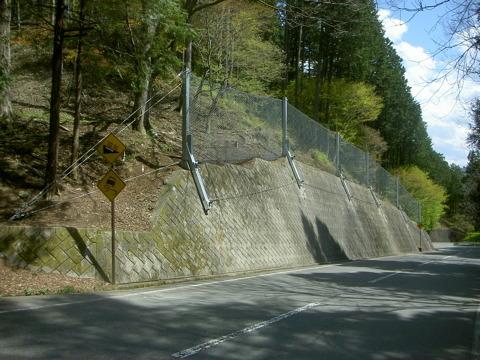 山間地の道路を災害から守る技術