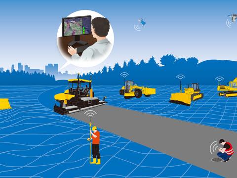 i-ConstructionにおけるIoT技術の活用